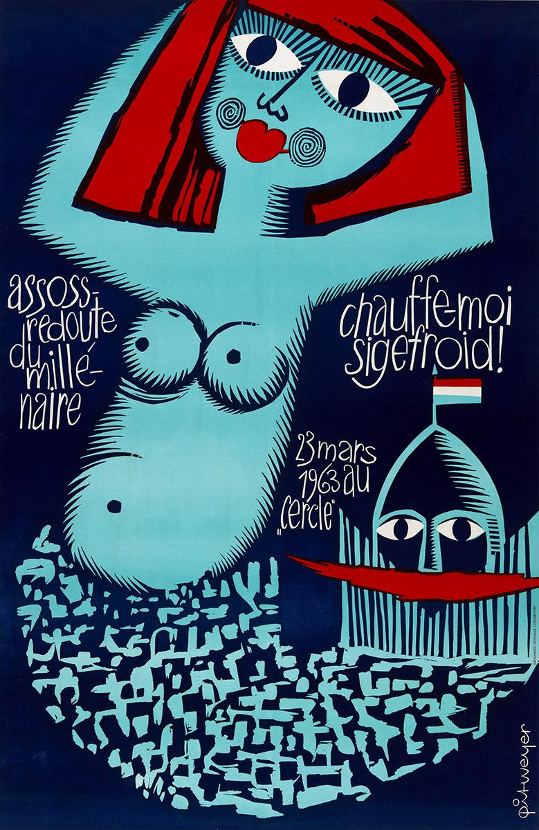 Affiche Assoss 1963 Pit Weyer