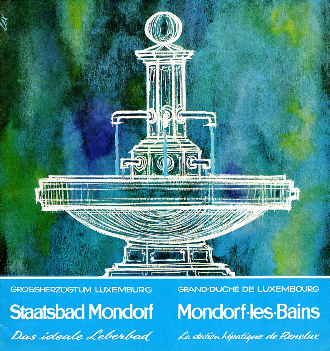 Brochure pour la station thermale de Mondorf-les-Bains 1959 - Lex Weyer senior