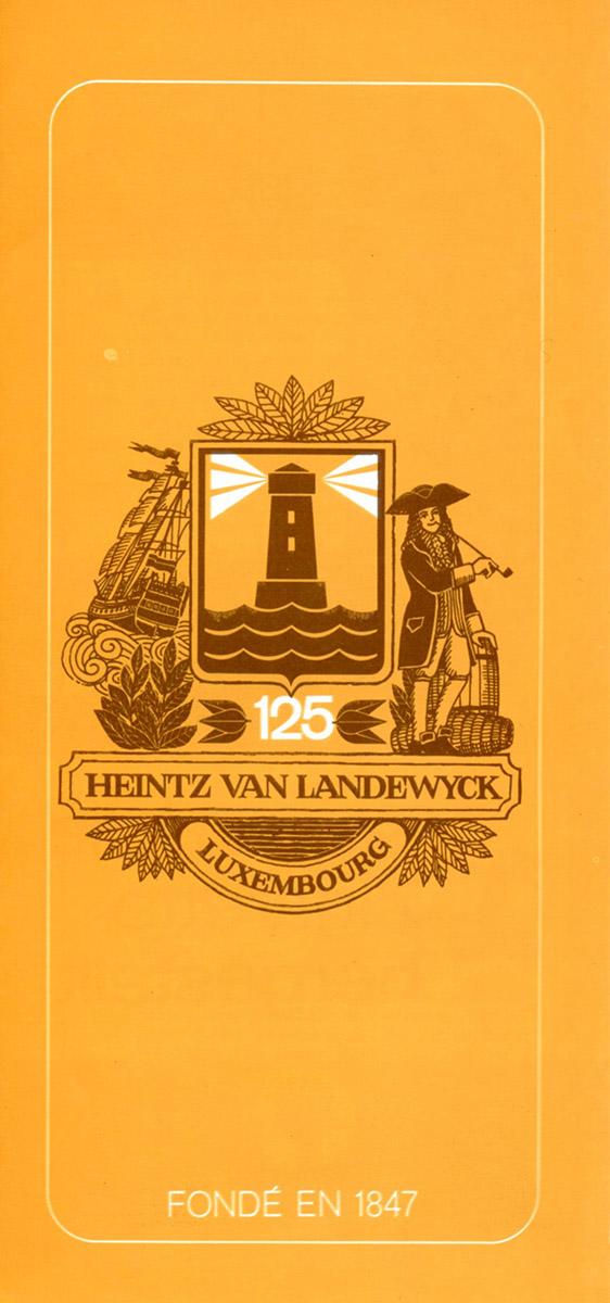 Flyer dépliant HVL Heintz Van Landewyck Cigarettes 1973 Lex & Pit Weyer illustration Anne Weyer