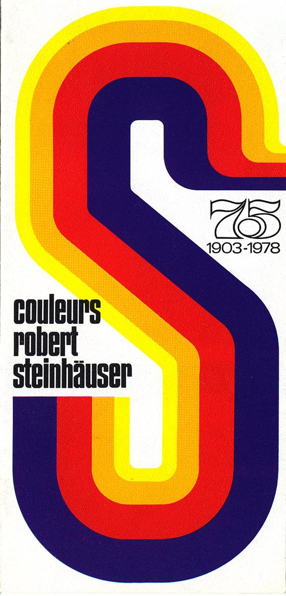 Dépliant pour Couleurs Steinhäuser 1978 Lex & Pit Weyer