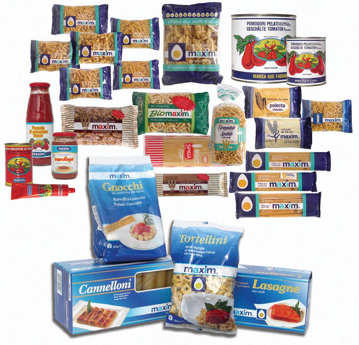 Produits Maxim packaging Lex & Pit Weyer