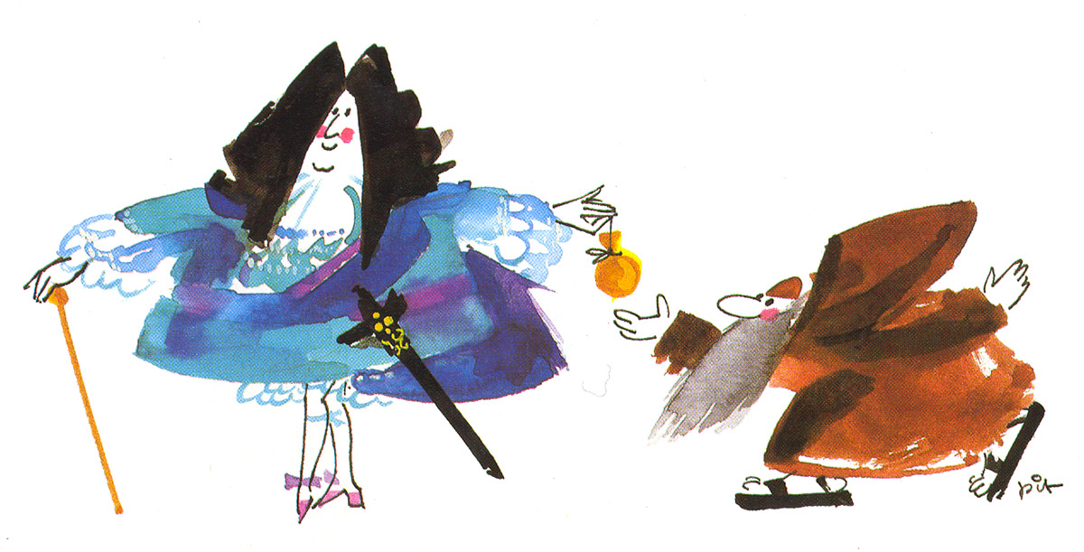 Illustratioun Pit Weyer Théâtre des Capucins 1985