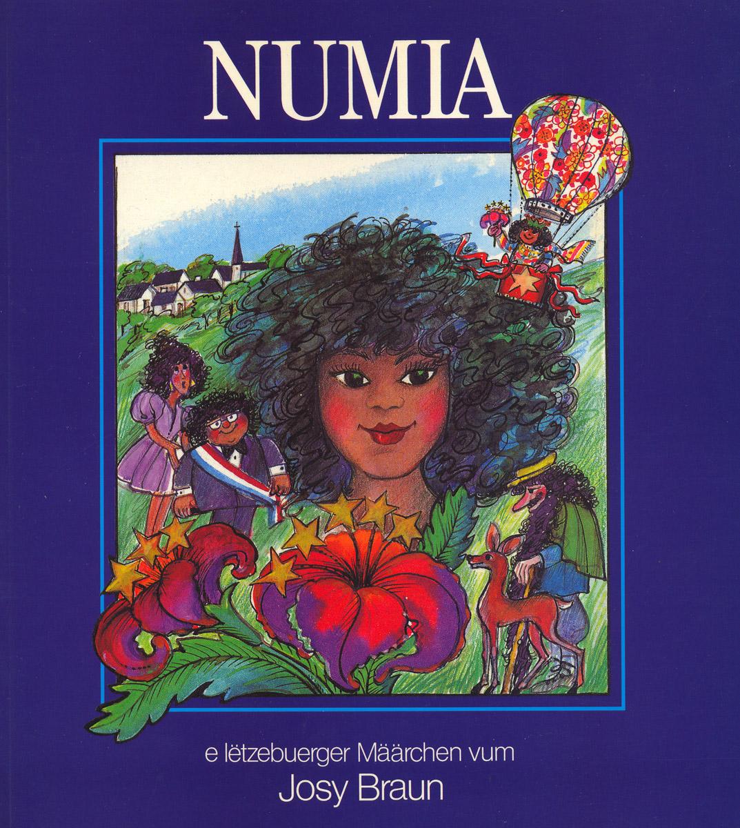 Livre pour enfants NUMIA 1992 texte Josy Braun Illustrations Anne Weyer