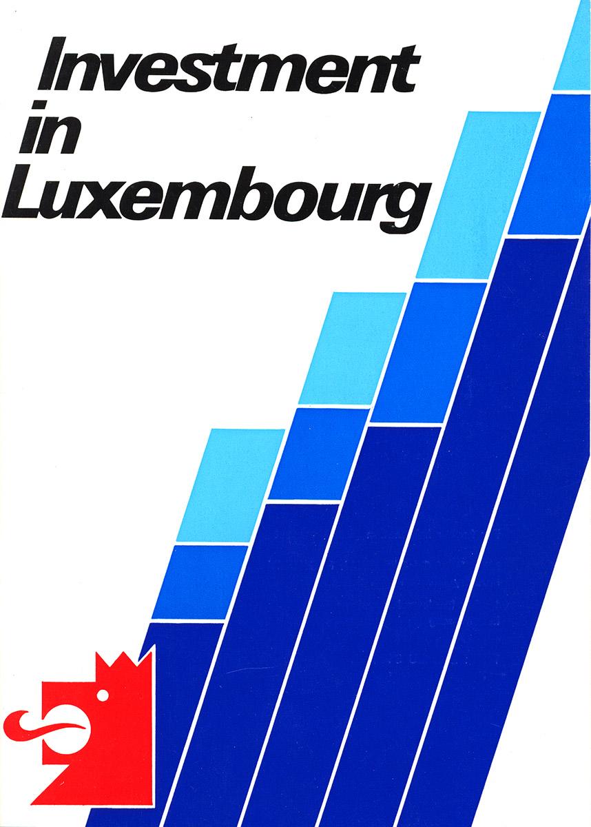 Brochure pour Ministère de l'Economie 1995 Invest in Luxembourg Lex & Pit Weyer