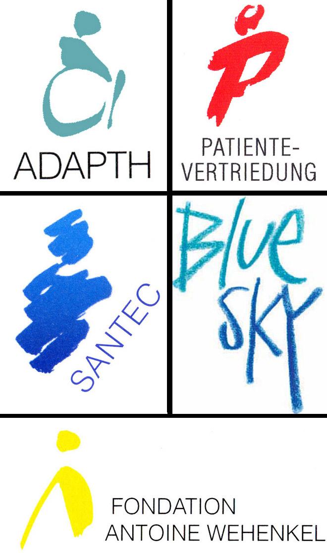 Série de logos autour du Centre de recherche public Henri Tudor