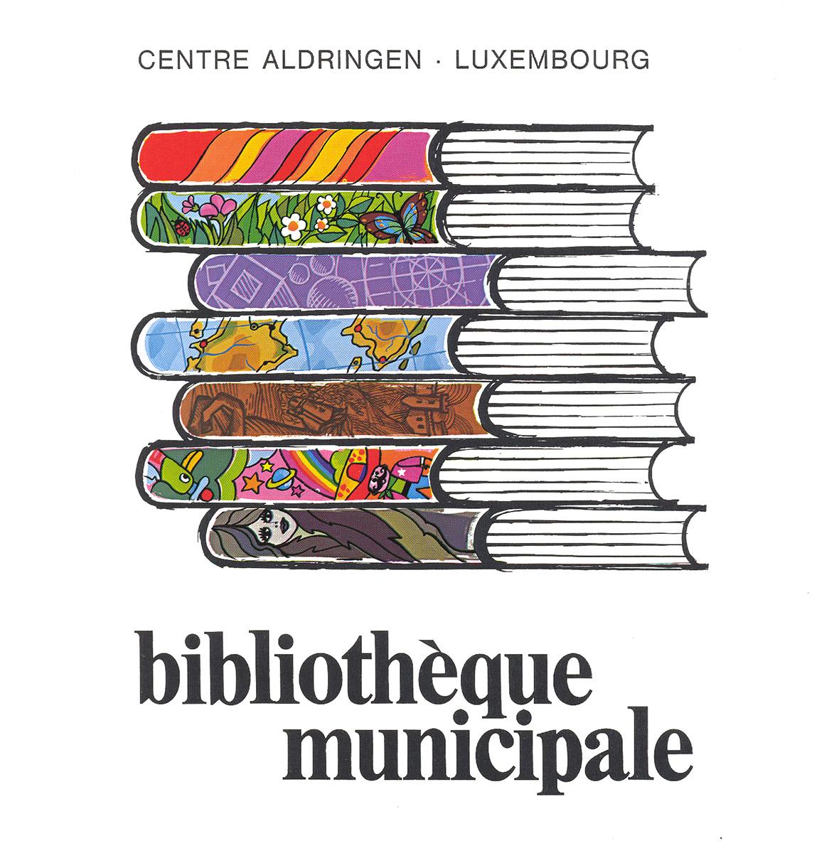 1999 Brochure Bibliotheque Municipale Pit Weyer