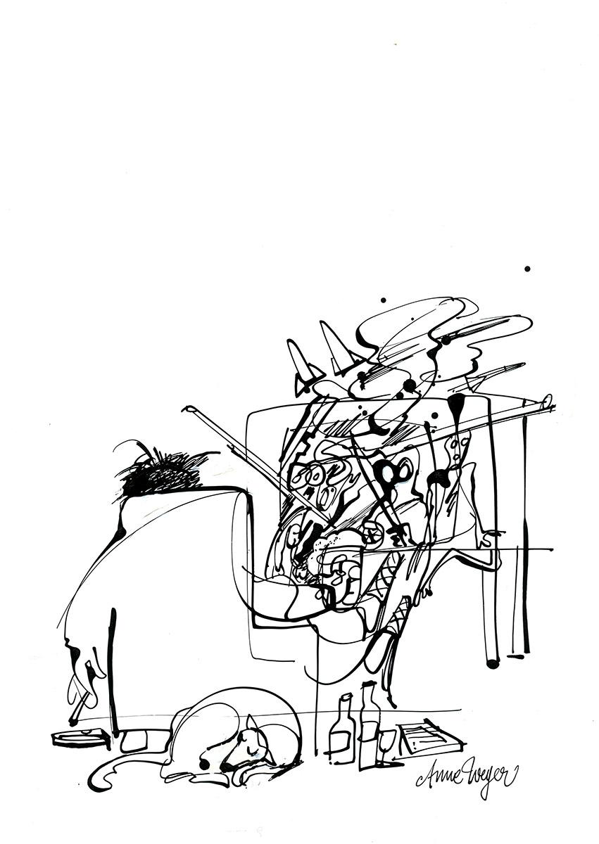 Illustration Anne Weyer 2000
