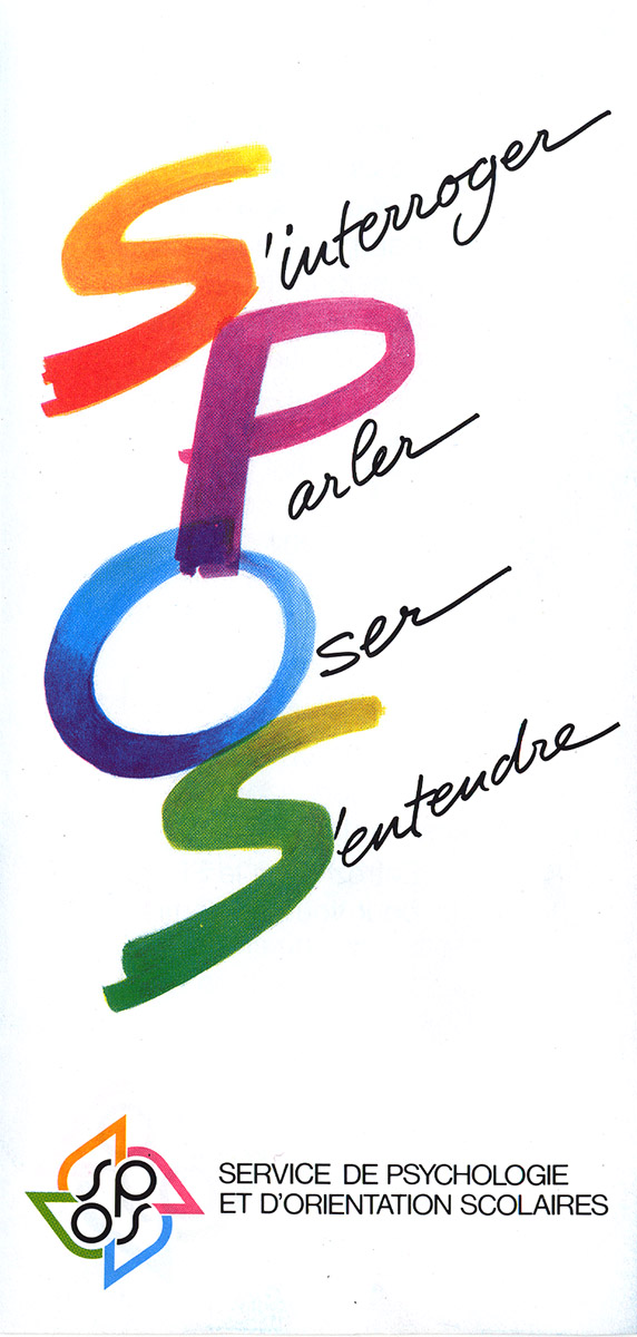 Dépliant pour le SPOSS 2003 Pit Weyer