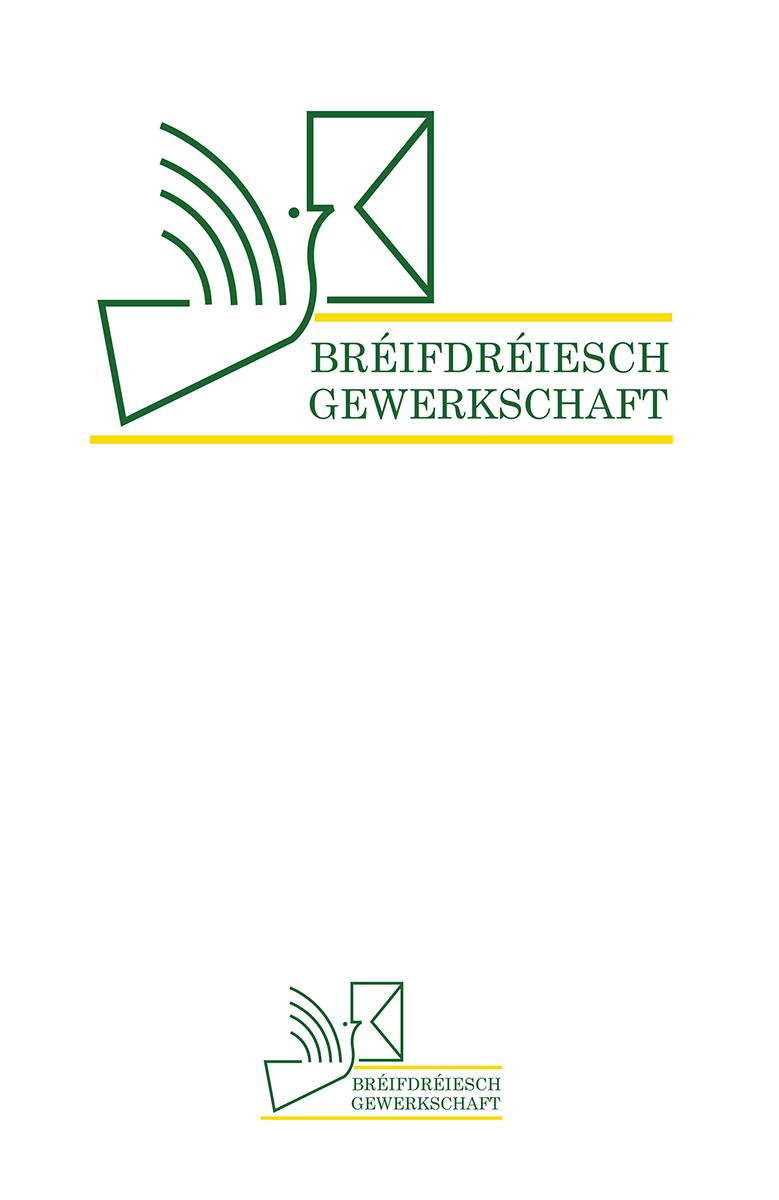 Logo Bréifdréiesch Gewerkschaft Lex & Pit Weyer