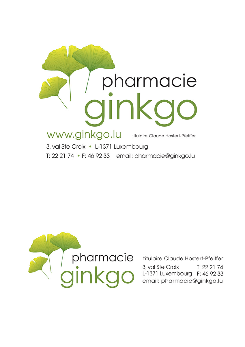 Logo Pharmacie Ginkgo NEW 2008
