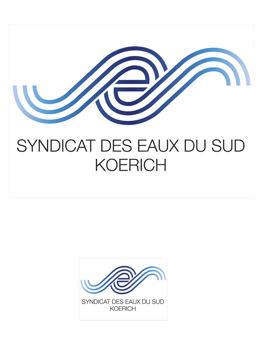 Logo SES Syndicat des Eaux du Sud 2008 redesign Lex & Pit Weyer