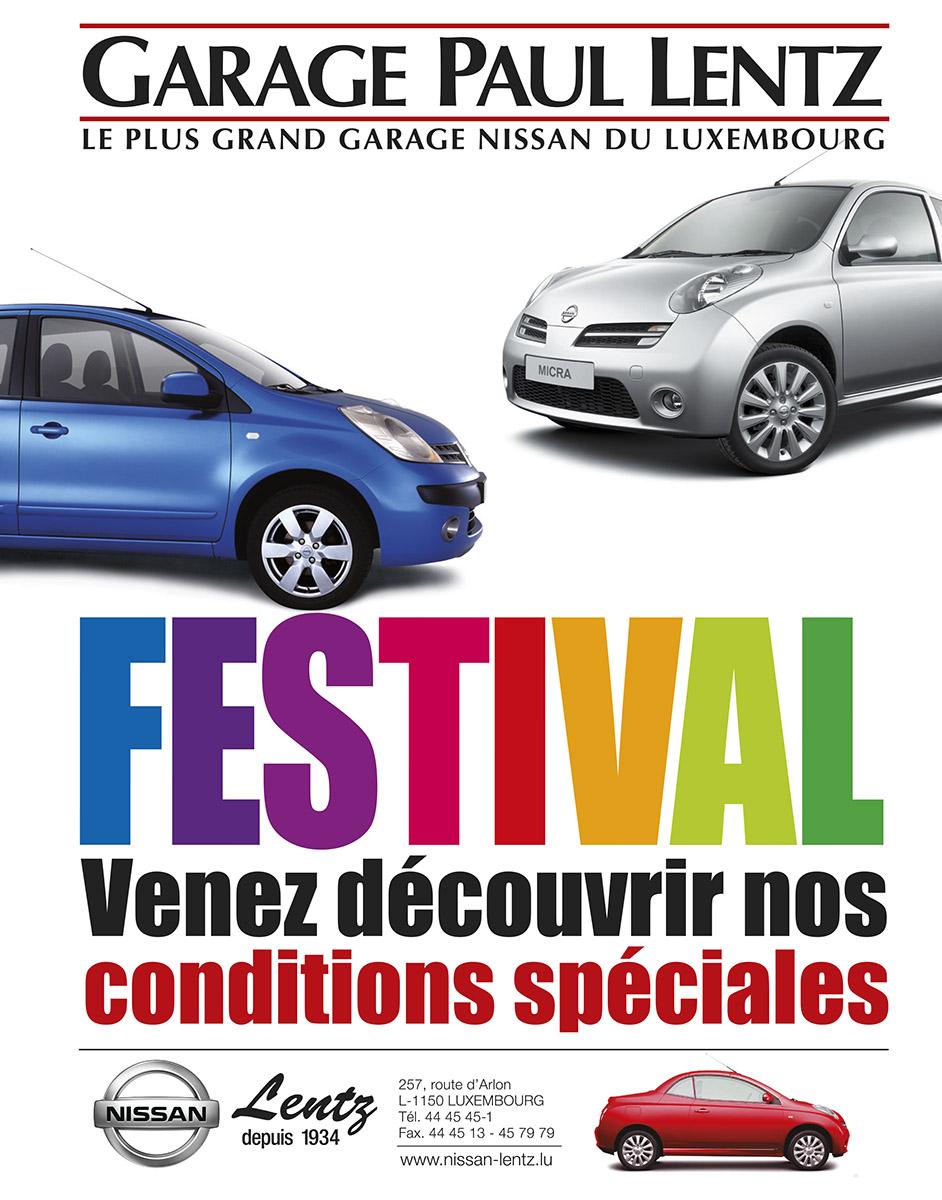 Annonce Nissan 2006 Garage Lentz Autofestival