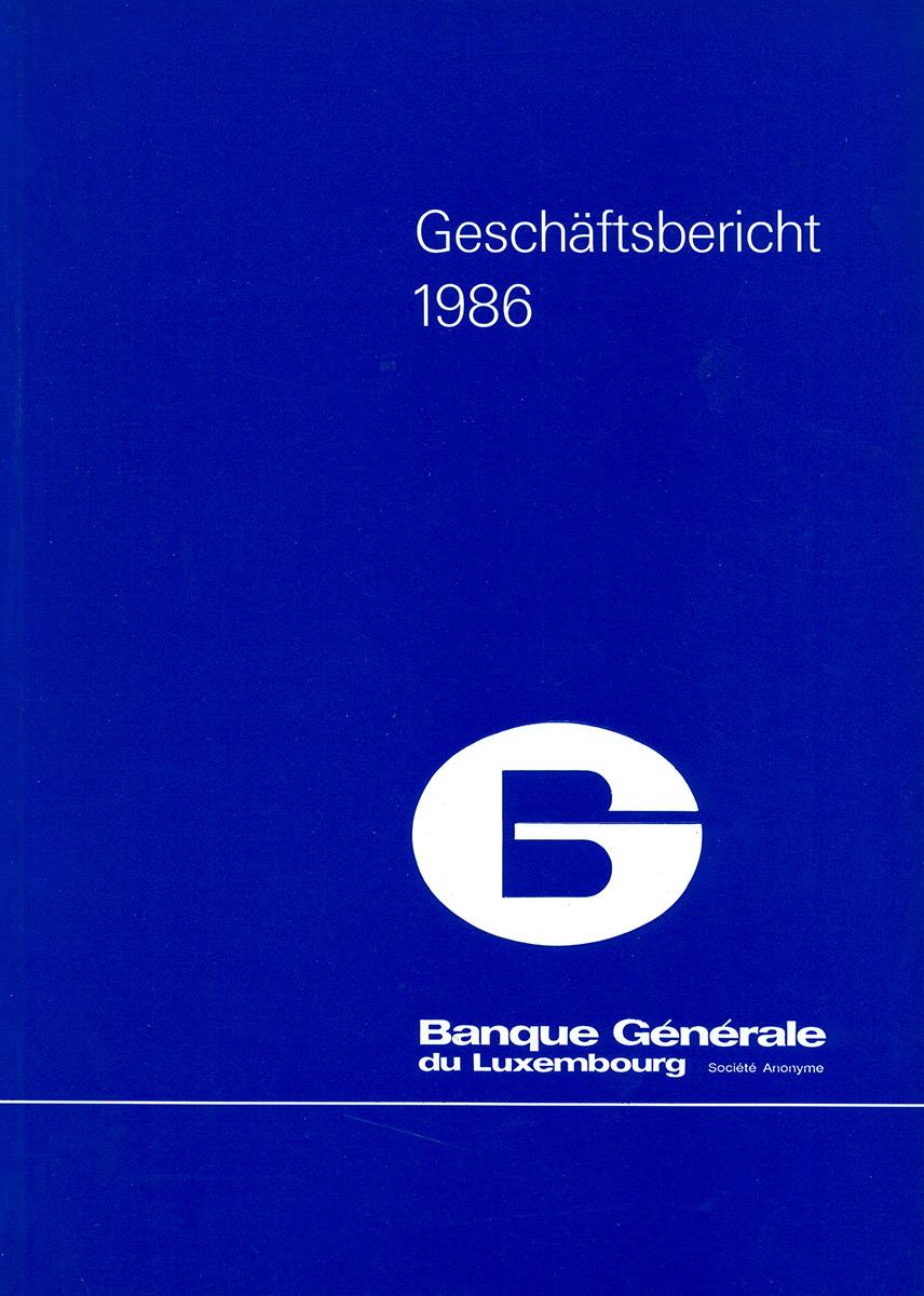Rapport annuel Banque Générale de Luxembourg Lex & Pit Weyer