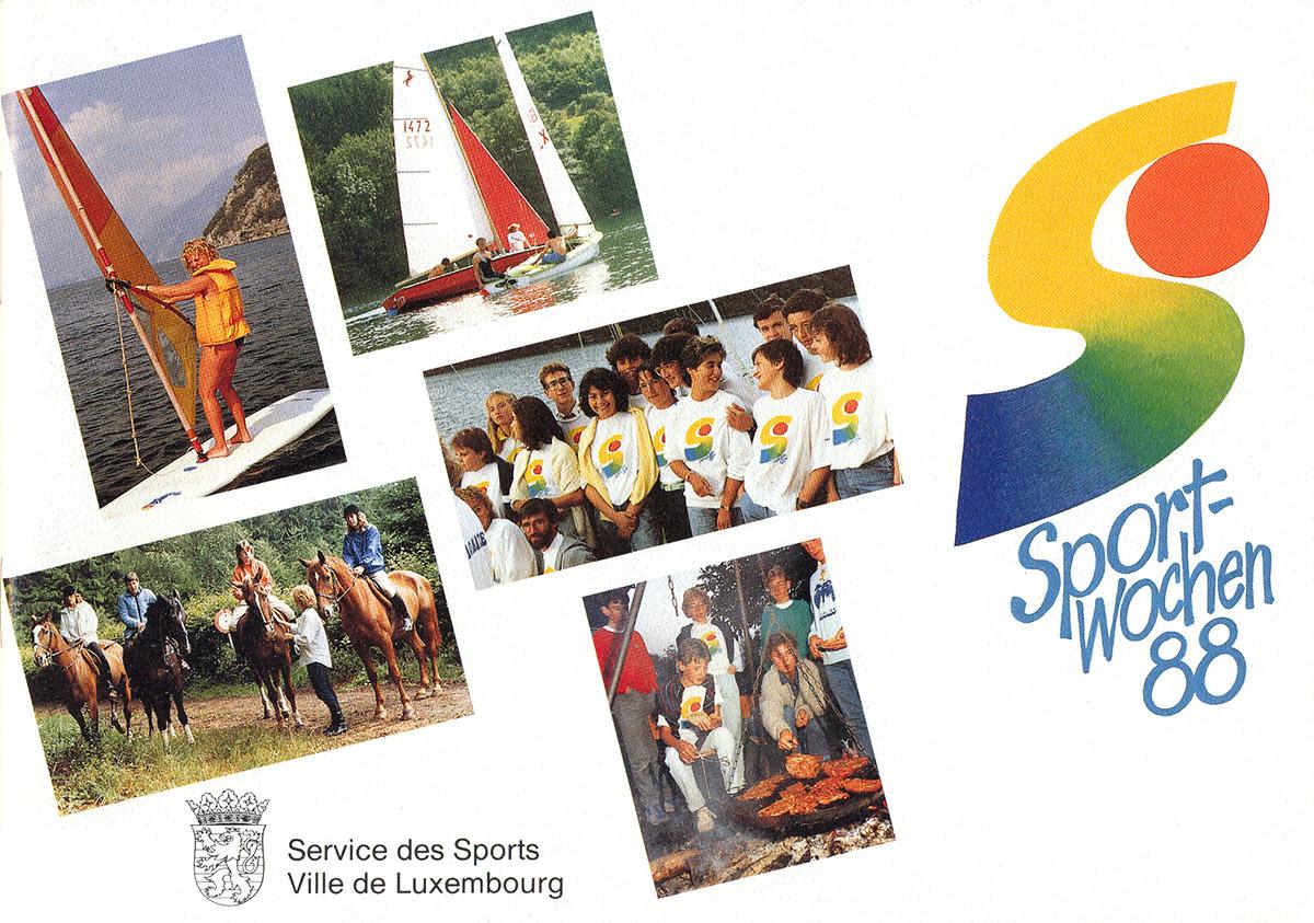 Brochure Sportwochen 1988 Pit Weyer