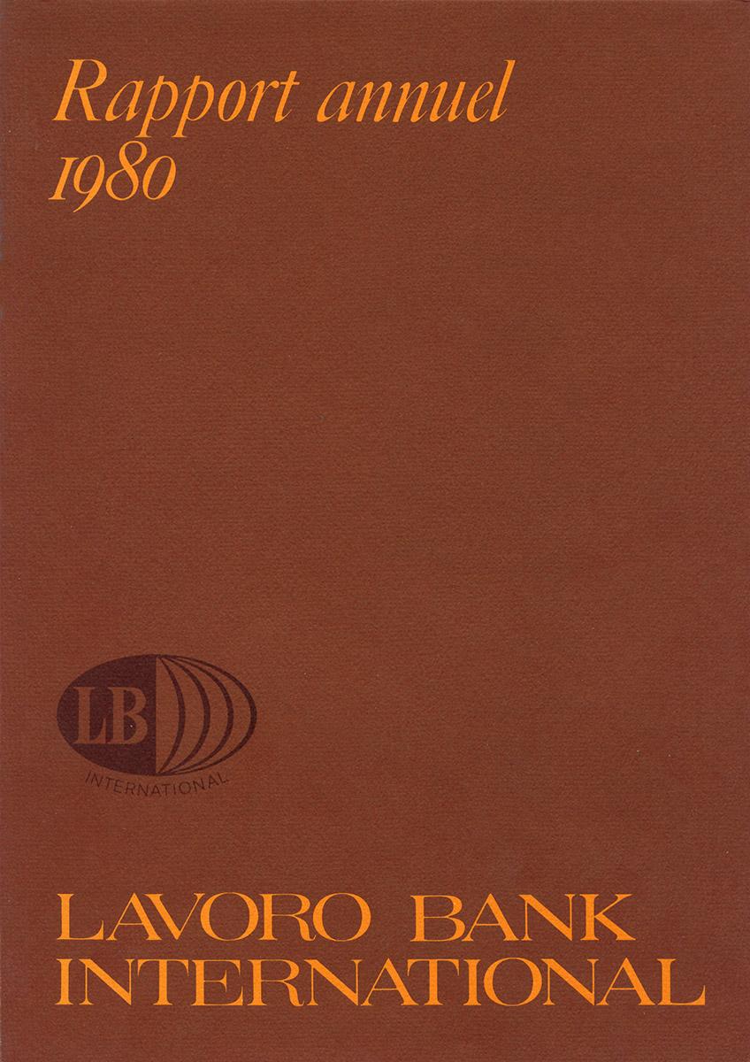 Rapport Annuel Lavoro Bank 1980