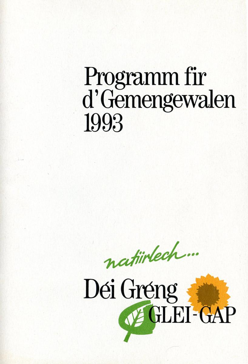 Logo Déi Greng GLEI-GAP