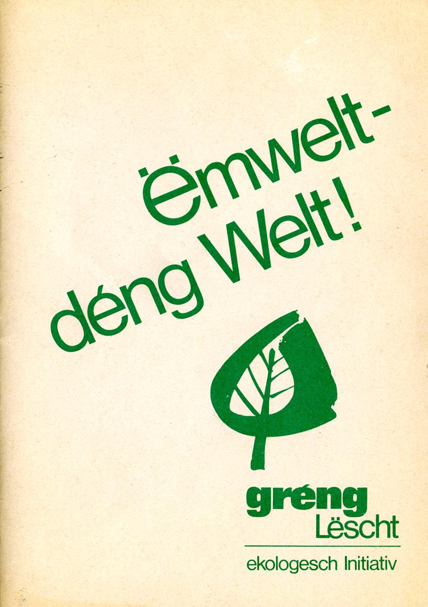 Logo Gréng Lëscht ökologesch Initiativ