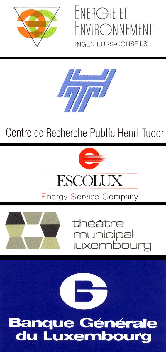 série de Logos réalisés par Lex & Pit Weyer