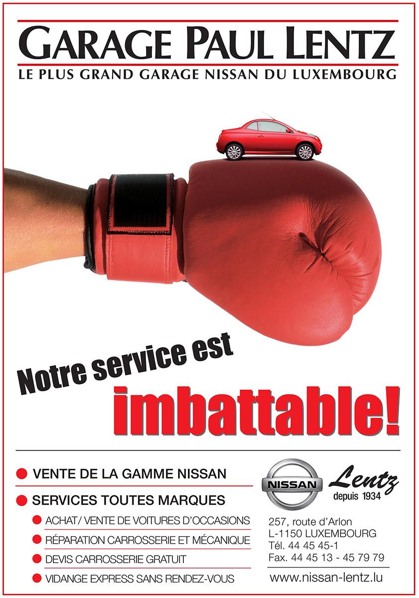 Annonce Nissan 2006 Garage Lentz