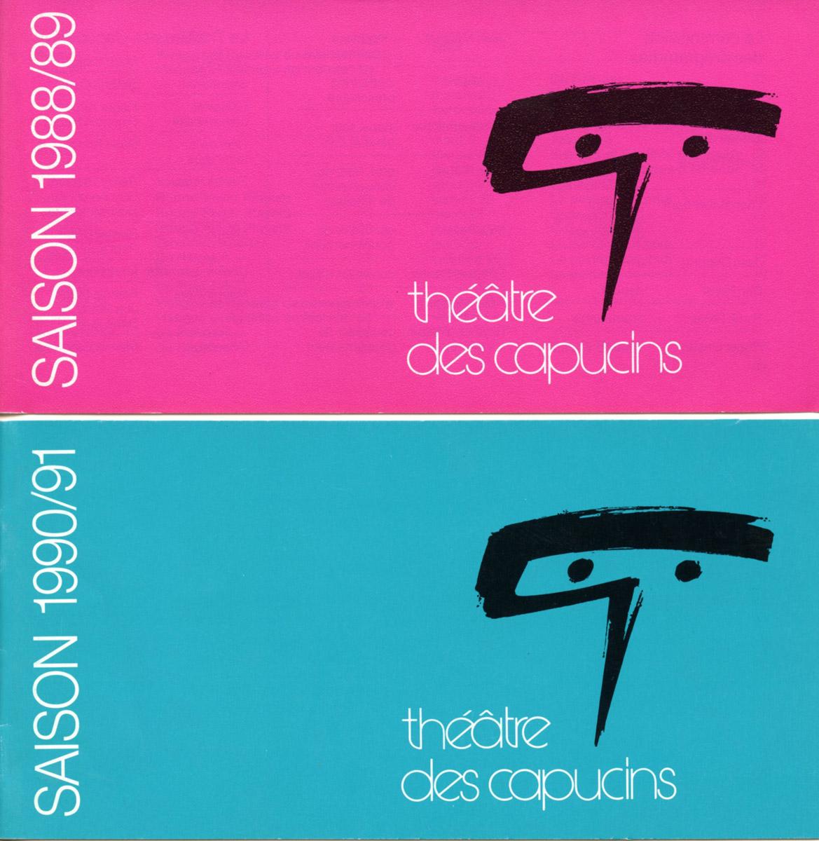 Programme Théâtre des Capucins 1988