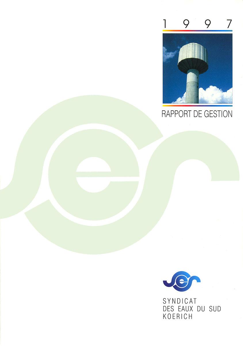 Rapport annuel SES Syndicat des eaux du Sud 1997 Lex & Pit Weyer