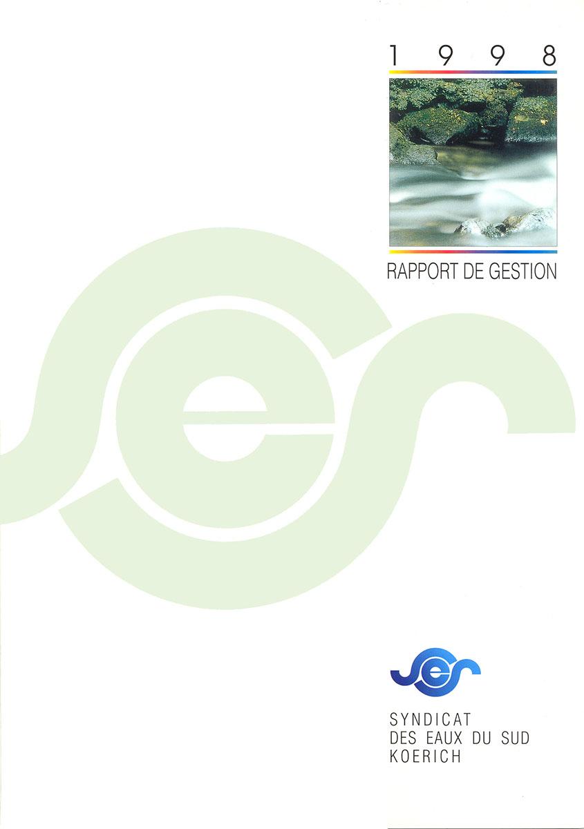 Rapport annuel SES Syndicat des eaux du Sud 1998 Lex & Pit Weyer