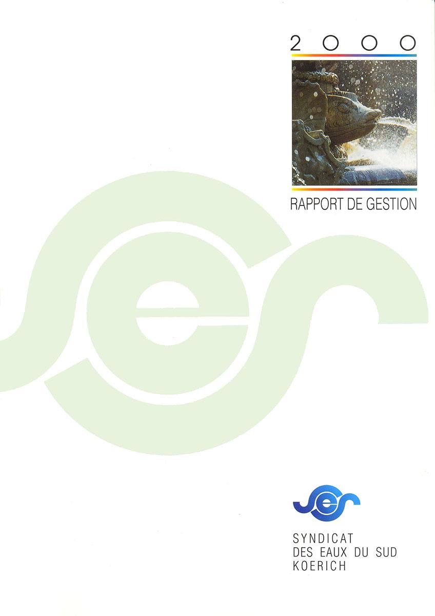 Rapport annuel SES Syndicat des eaux du Sud 2000 Lex & Pit Weyer