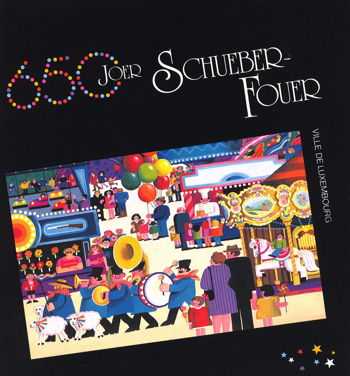 Brochure Schueberfouer 650 Joer 1990 Lex & Pit Weyer