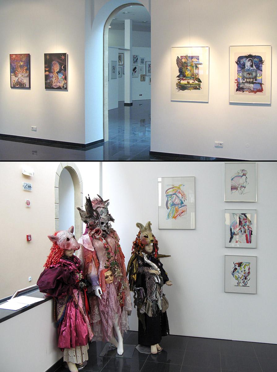 Ausstellung Anne Weyer Mersch 2008
