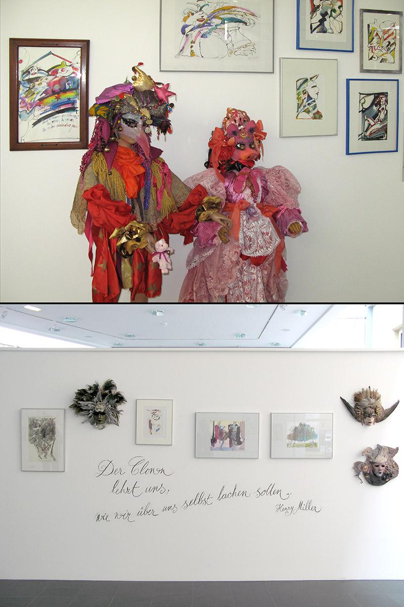 Ausstellung Mierscher Kulturhaus Centre National de littérature Mersch 2008