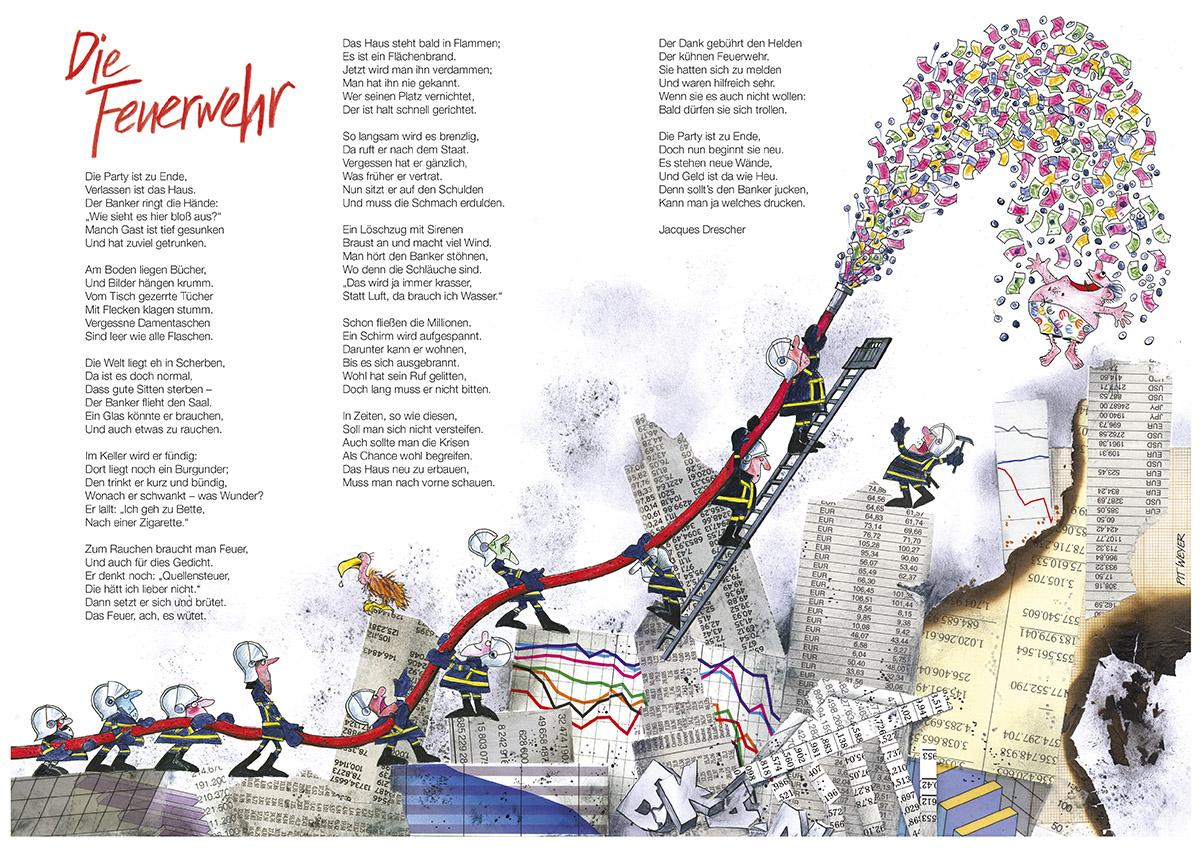Illustration Ons Stad Luxemburg 2009 Pit Weyer
