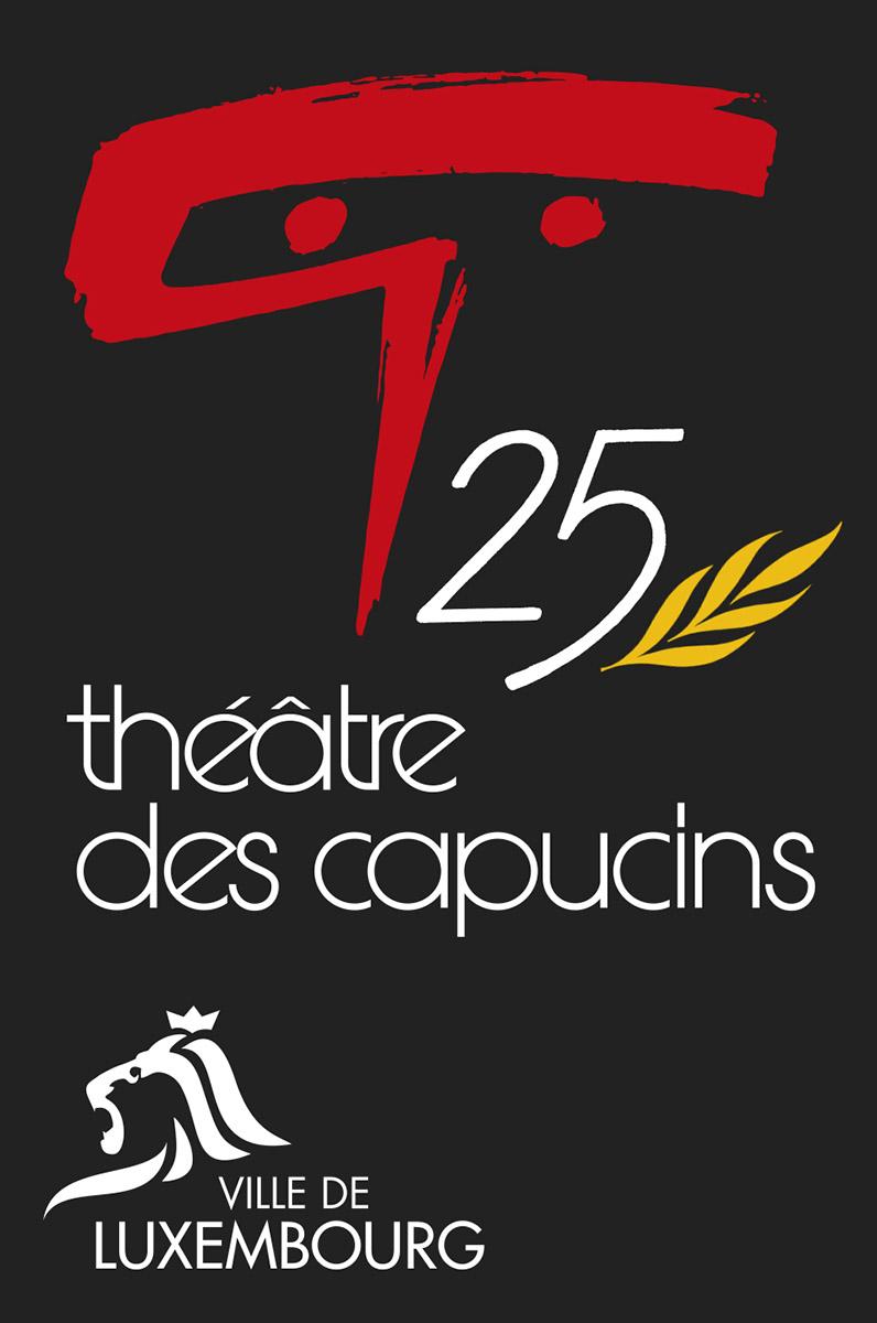 Logo 25 ans théâtrte des capucins luxembourg Lex & Pit Weyer 2009