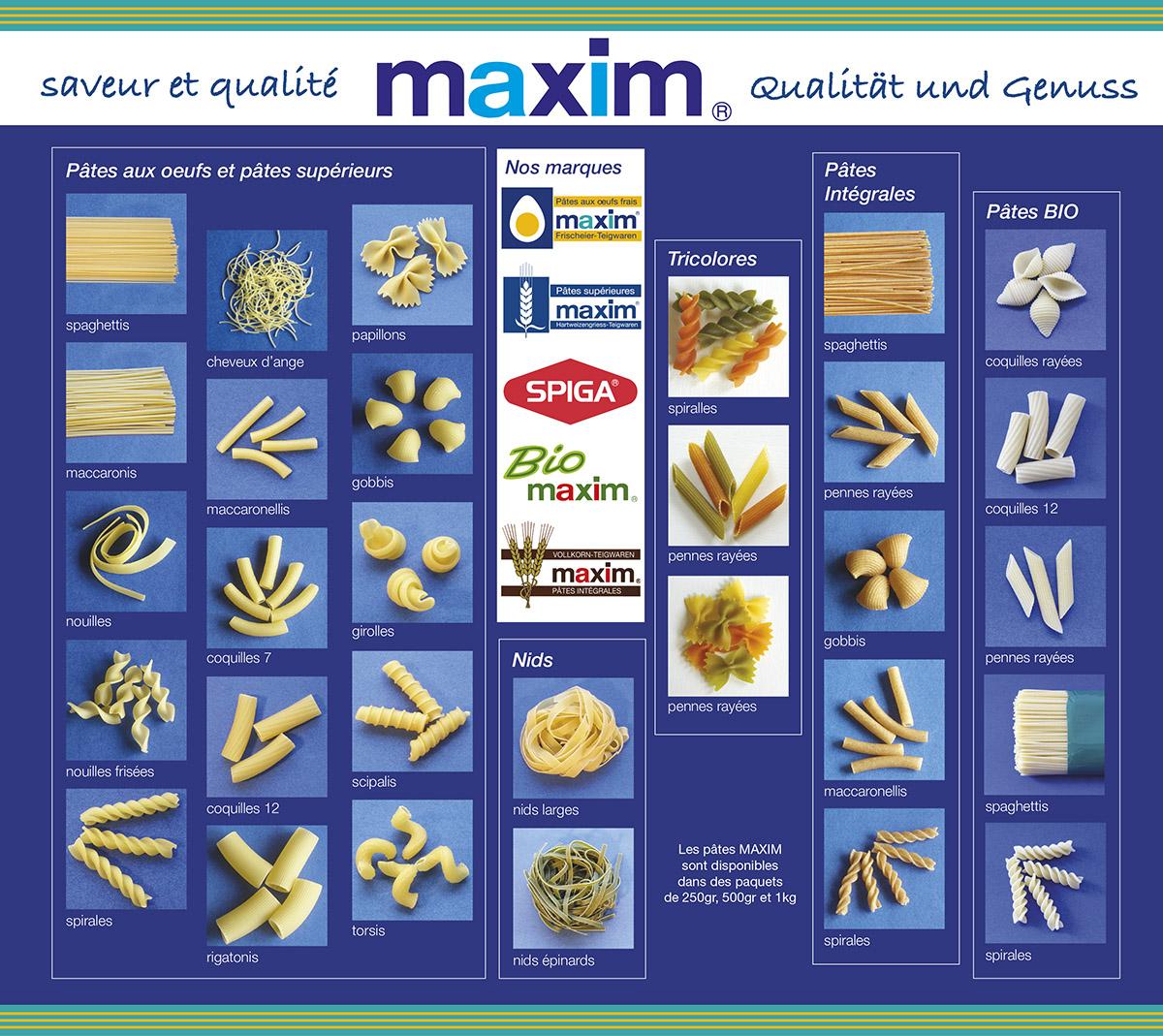 Produits Maxim Emballages Packaging Lex & Pit Weyer