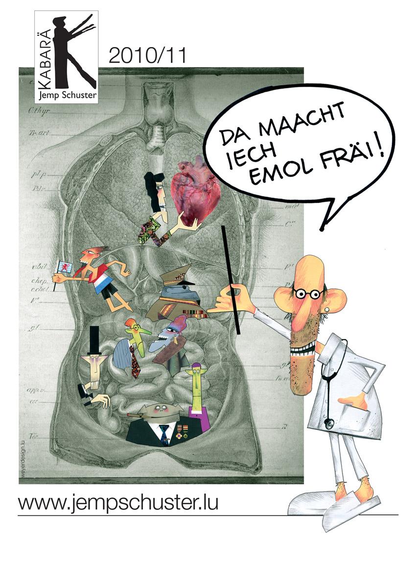 Affiche 2010 Maacht iech emol frai Pit Weyer