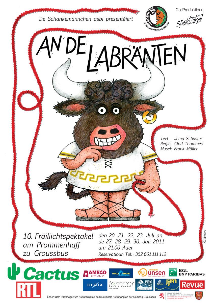 2011 Affisch Jemp Schuster Pit Weyer