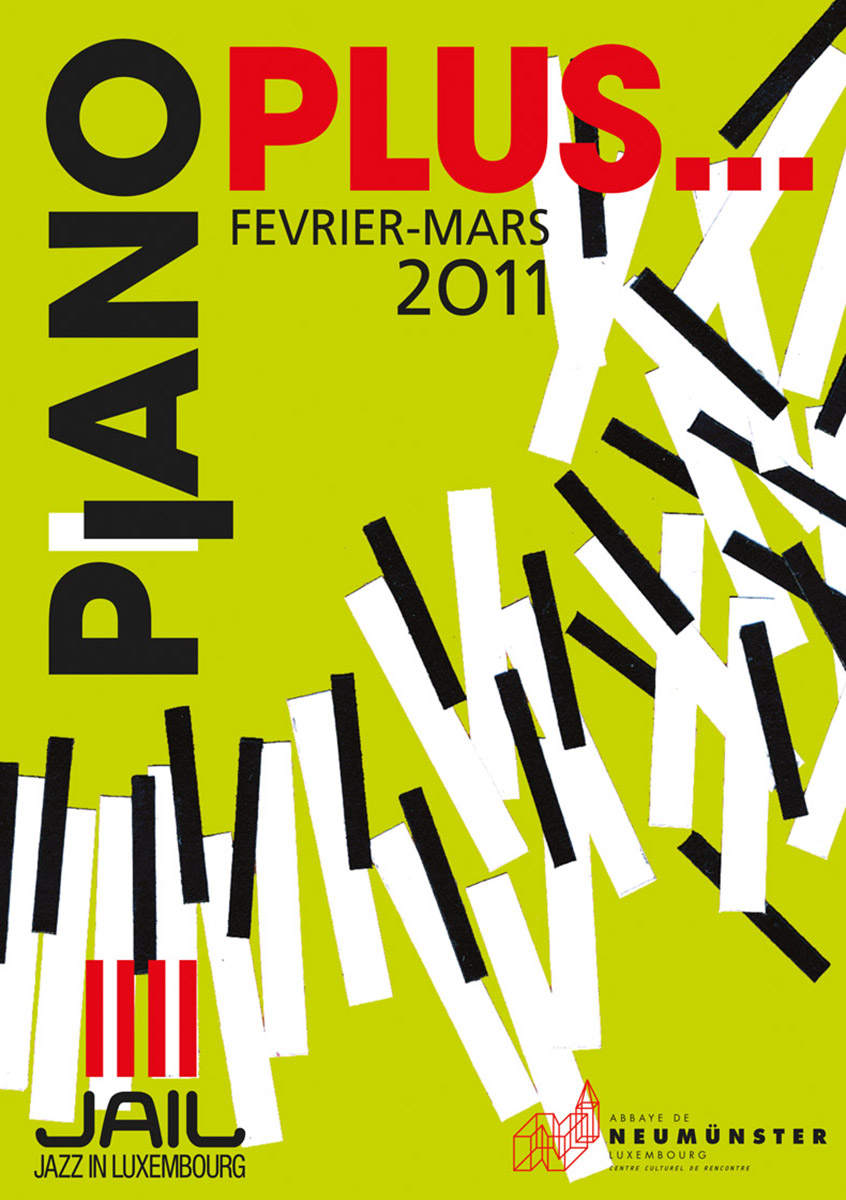 Annonce Piano Plus Festival Jail Luxembourg 2011