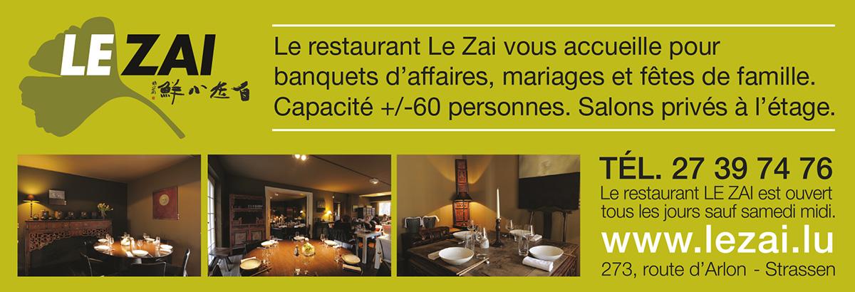 annonce LeZai restaurant 2011