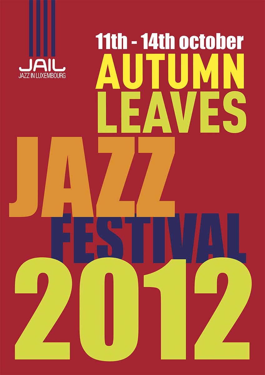 Affiche Autumn Leaves Jazz Festival 2012 Lex Weyer