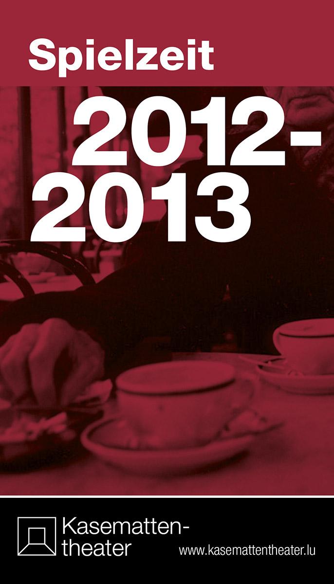 Programmheft Spielzeit 2012-13 Kasemattentheater Luxemburg Lex Weyer