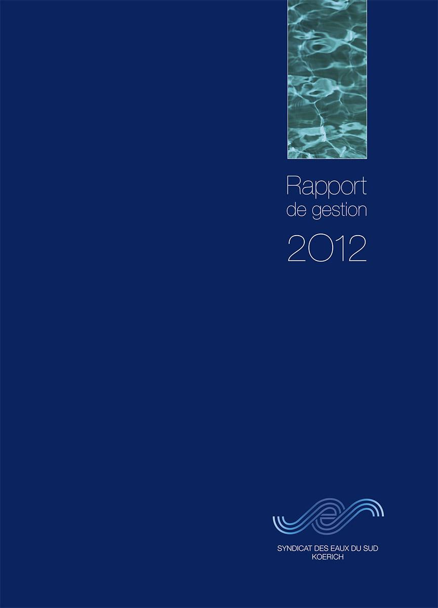Rapport annuel SES Syndicat des Eaux du Sud 2012