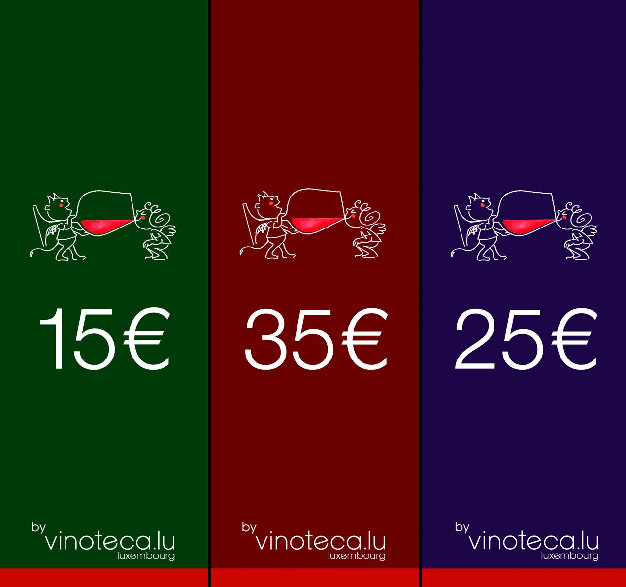 Bons Cadeau _vinoteca.lu