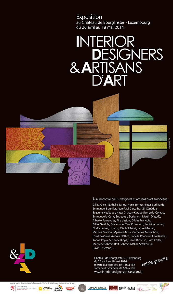 Affiche IDAA Exposition Bourglinster 2014
