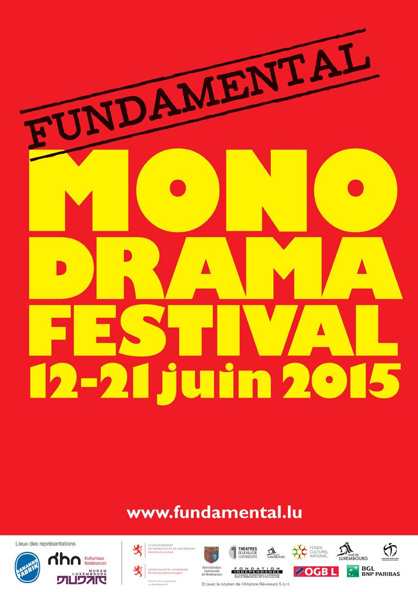 2015 Affisch Fundamental Monodramafestival