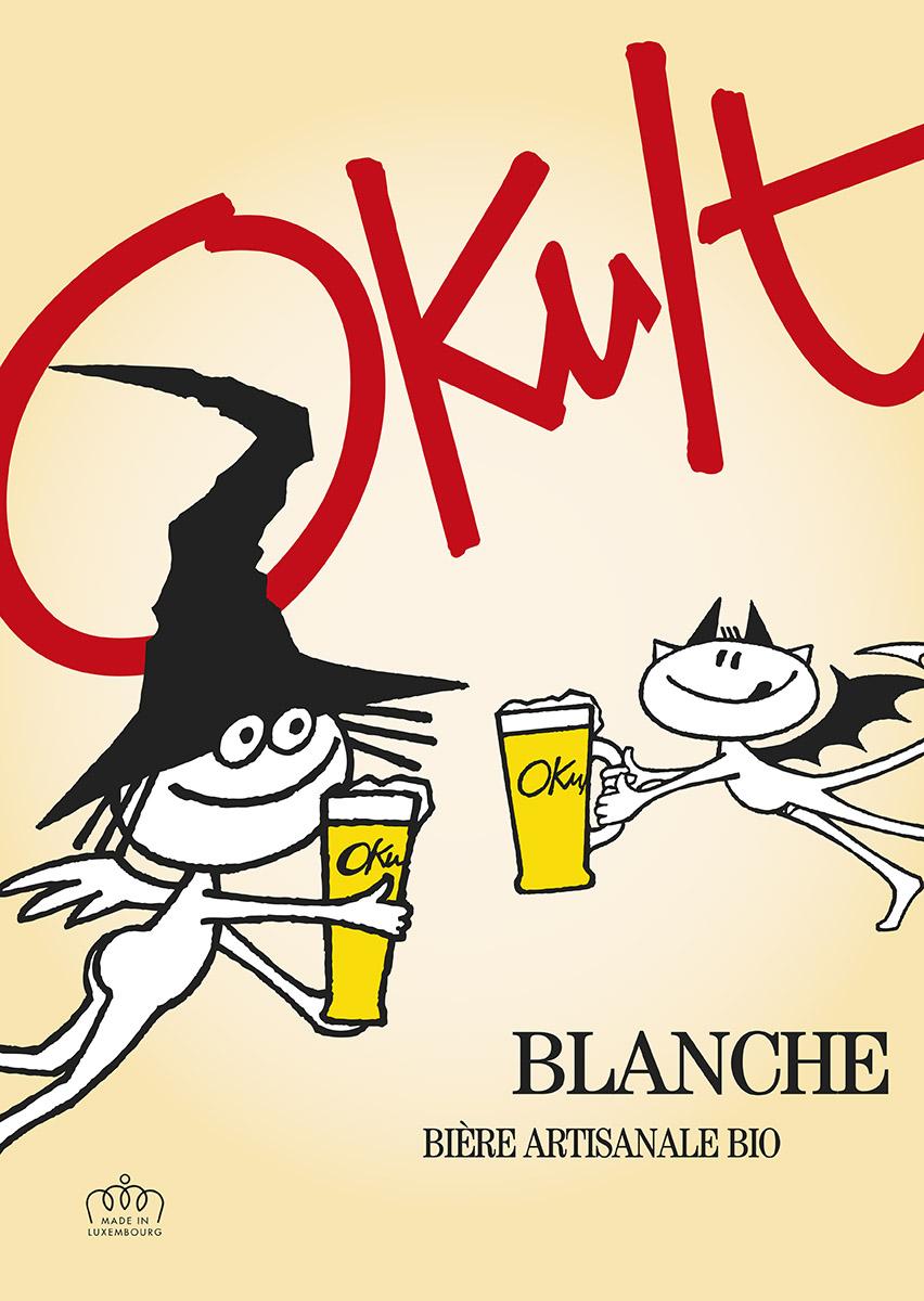 Affiche Plakat Poster OKULT Bières Bier Craftbeer Lex & Pit Weyer
