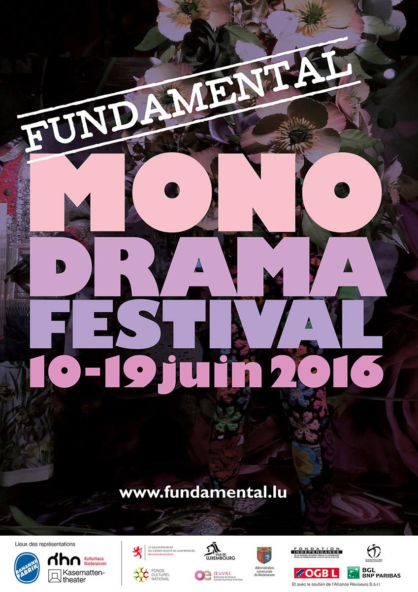 2016 Affiche Fundamental Monodrama