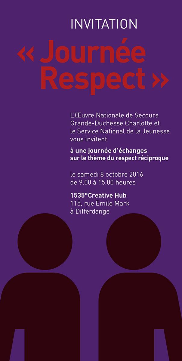 Invitation Journées respect Oeuvre Grande-Duchesse Charlotte 2016