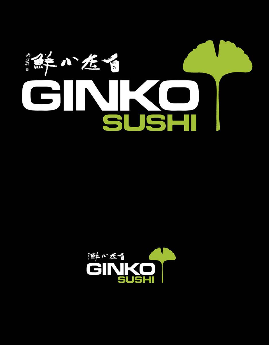 Logo Ginko Sushi Strassen 2016 Lex Weyer
