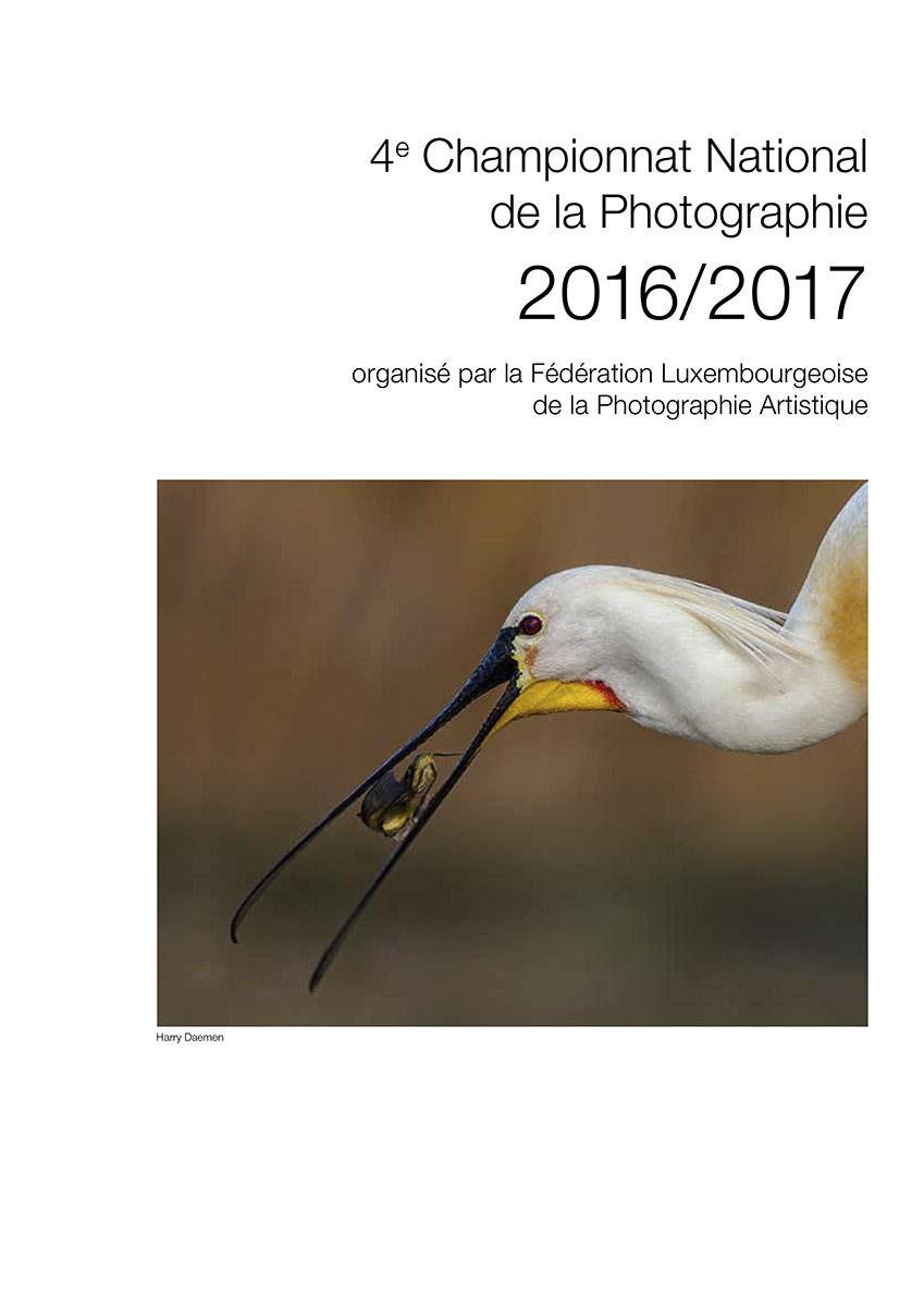 Brochure Photoclub Championnat National de la Photographie