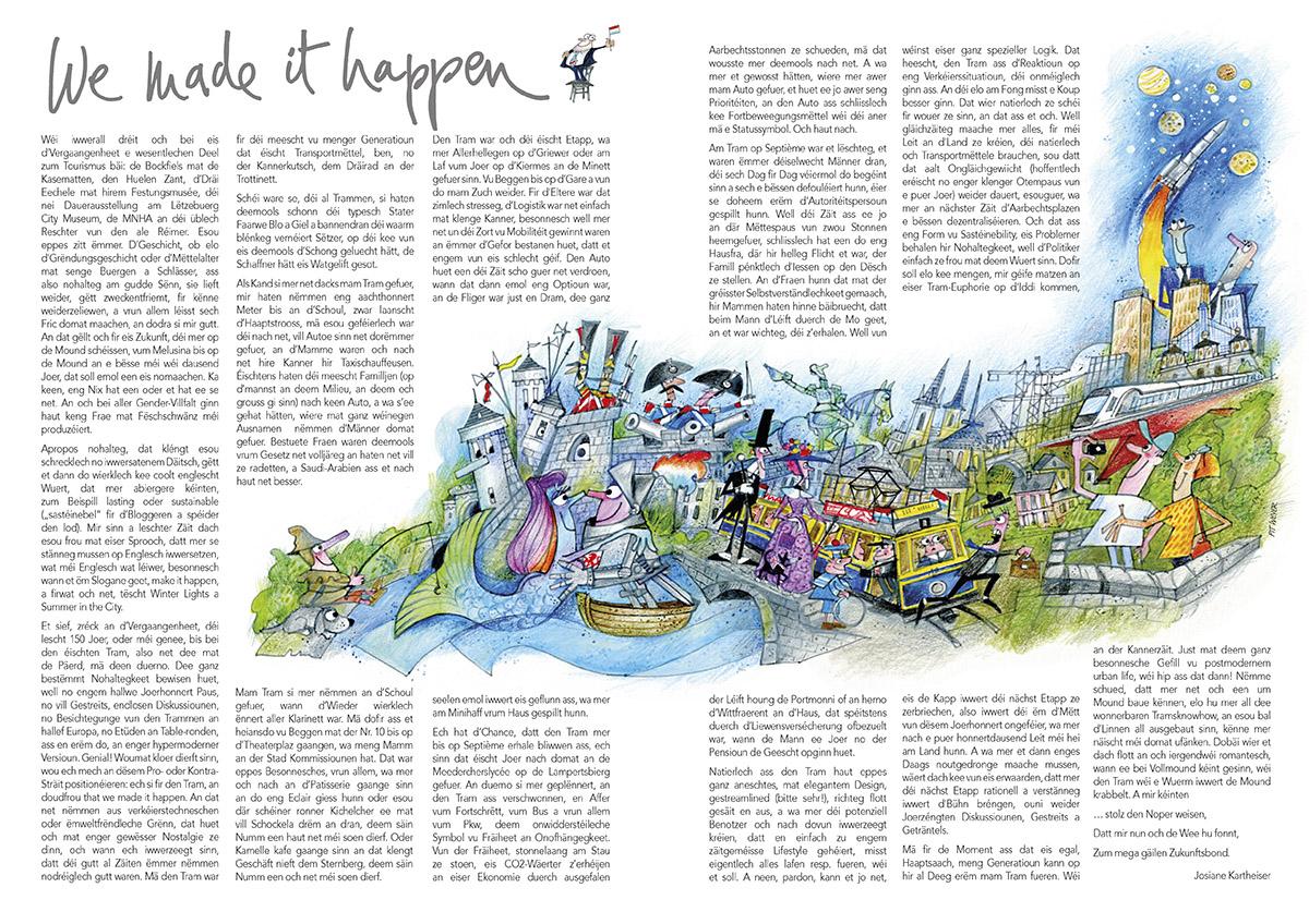 Illustratioun Ons Stad 2017 Pit Weyer