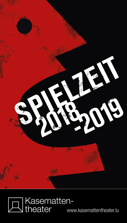 Cover Programm Kasemattentheater Spielzeit2018-19
